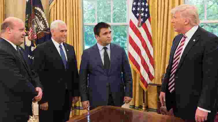 Клімкін зустрівся з президентом і віце-президентом США
