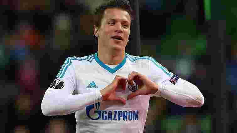 Німецький «Шальке» вирішив залишити в команді Євгена Коноплянку