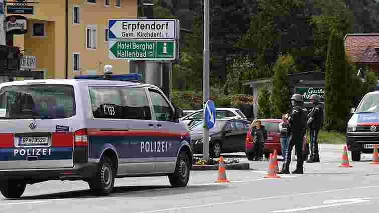 В Австрії озброєний чоловік захопив банк