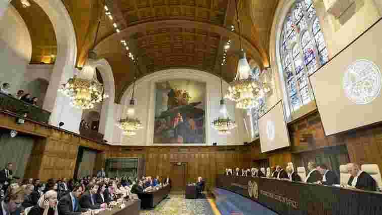 Суд ООН визначив графік процесу України проти РФ до літа 2019 року