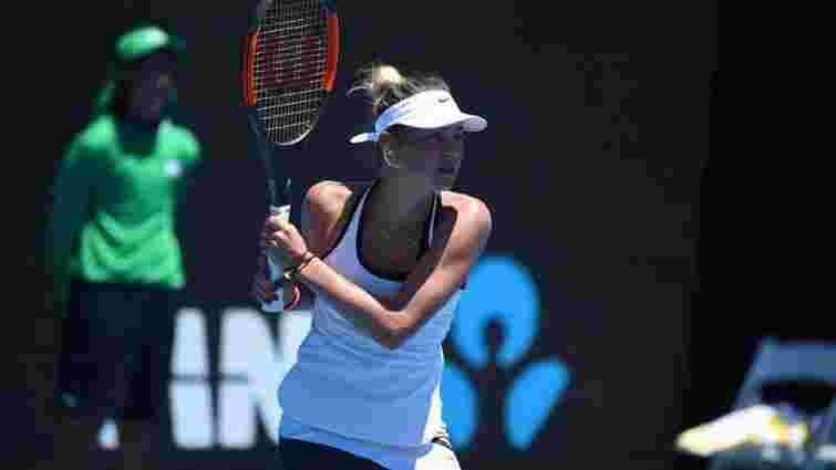 14-річна українська тенісистка Марта Костюк виграла перший дорослий турнір в кар'єрі