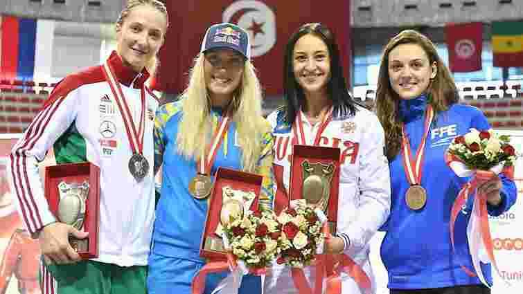 Українська шаблістка Ольга Харлан виграла етап Кубка світу в Тунісі