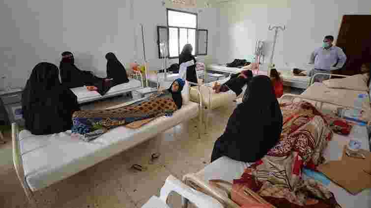 У Ємені від холери загинуло понад 100 людей та ще 8,5 тис. хворіють