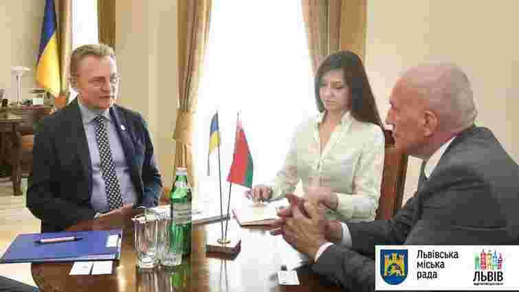 На зустрічі з послом Білорусі мер Львова обговорив перспективи співпраці