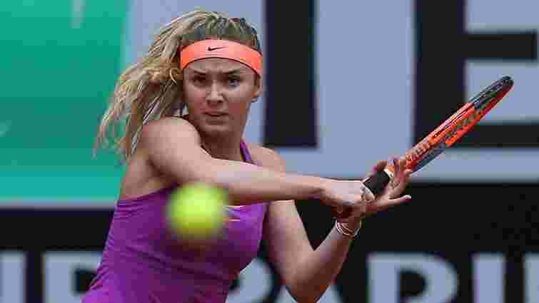 Перша ракетка України Еліна Світоліна вийшла у чвертьфінал турніру в Римі