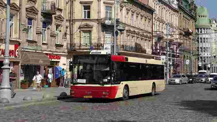 У Львові змінили маршрут автобуса №53