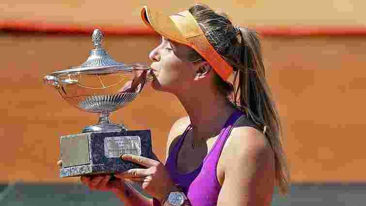 Перша ракетка України Еліна Світоліна завоювала четвертий трофей в сезоні