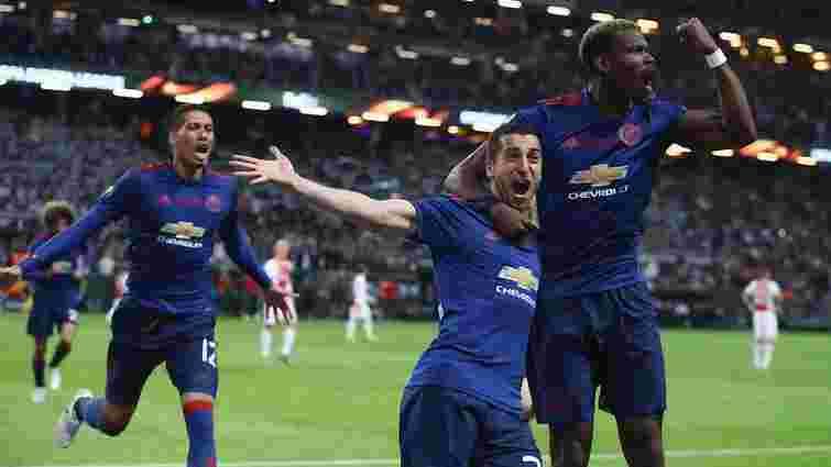«Манчестер Юнайтед» переміг у фіналі Ліги Європи