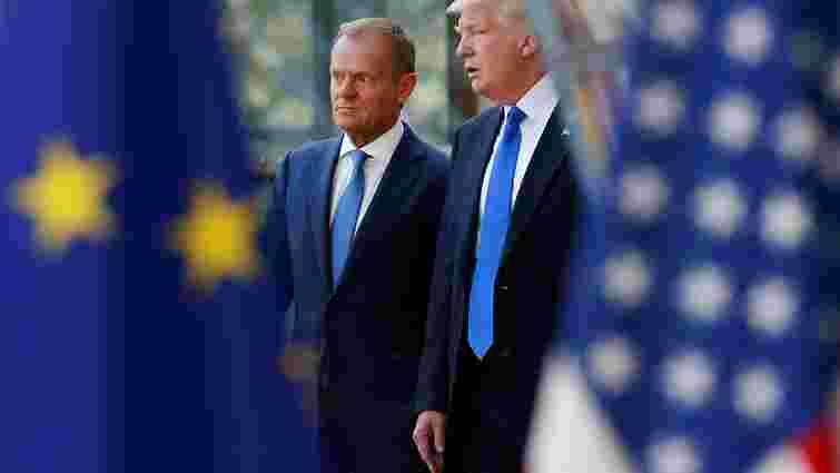 Голова Ради ЄС заявив про спільні позиції Дональда Трампа та ЄС щодо України