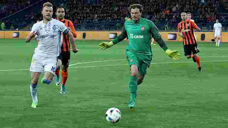«Шахтар» тричі пропустив від «Динамо» у передостанньому матчі сезону