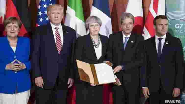 У G7 пригрозили Росії новими санкціями через агресію в Україні