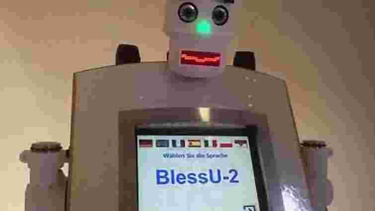 У німецькому протестантському храмі з'явився робот-священик