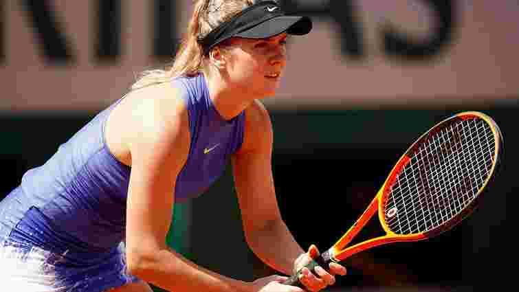Перша ракетка України з перемоги стартувала на Roland Garros