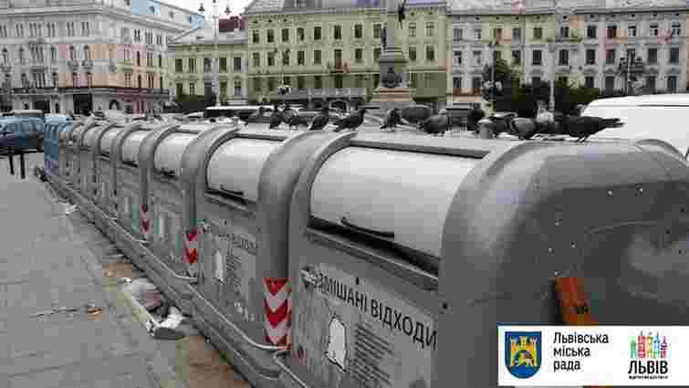 За добу зі Львова вивезли 745 тонн сміття