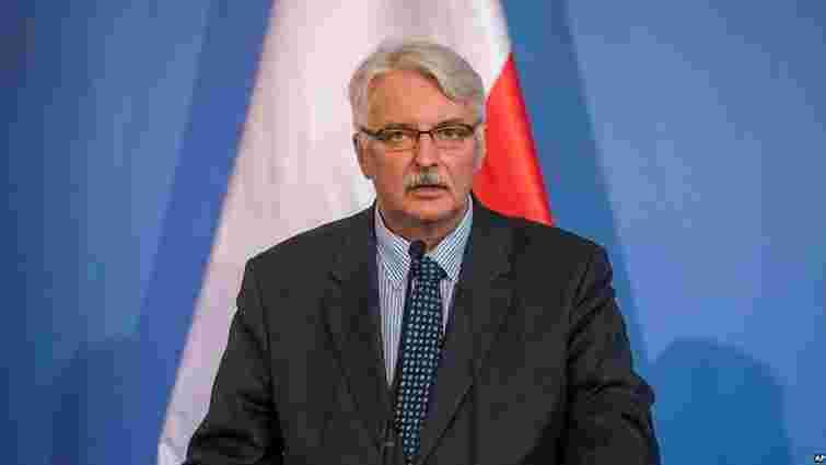Україна не увійде до Європи з Бандерою, – голова МЗС Польщі