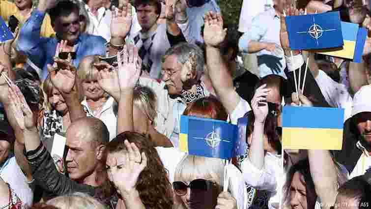 В Україні збільшилась кількість прихильників вступу до HATO