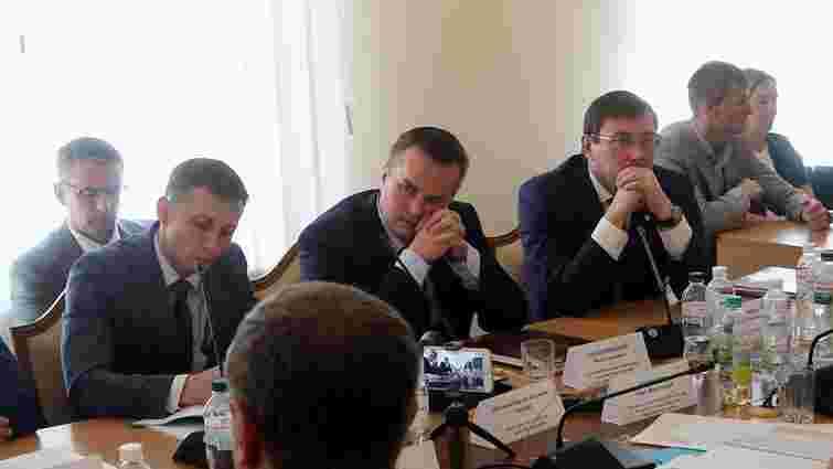 Луценко посварився з Пинзеником на Регламентному комітеті ВРУ