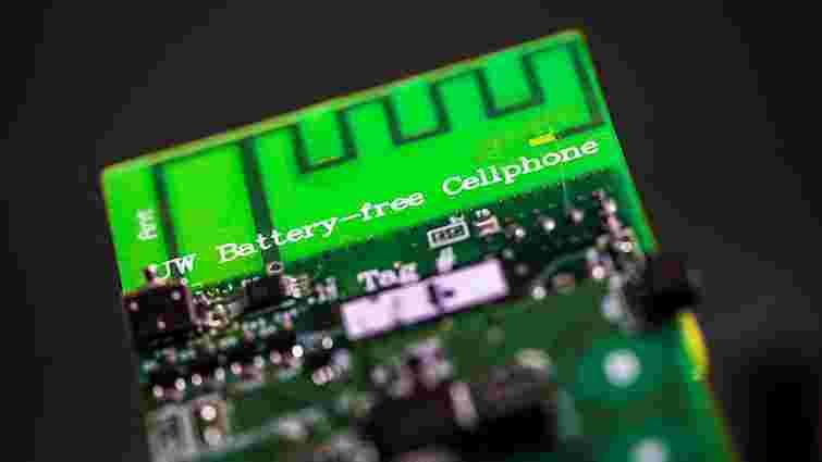 Інженери створили робочий прототип телефону, що працює без батареї