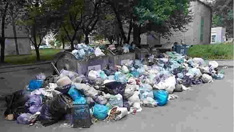 У Львові 282 сміттєві майданчики переповнені