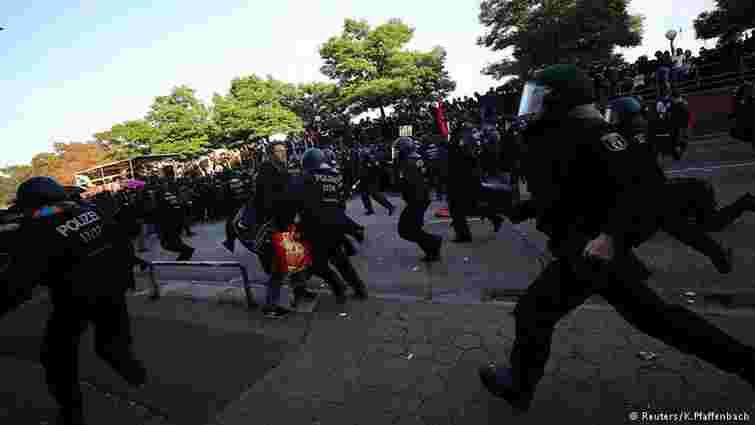 У Гамбурзі в сутичках з радикалами поранили 76 поліцейських