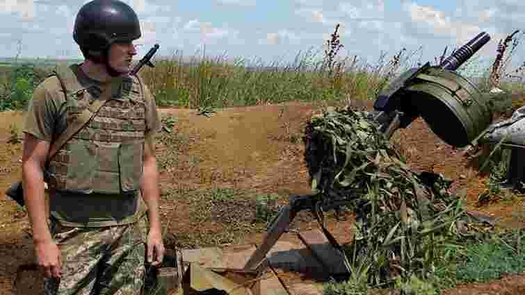 Сили АТО відбили наступ диверсійної групи бойовиків на Донеччині