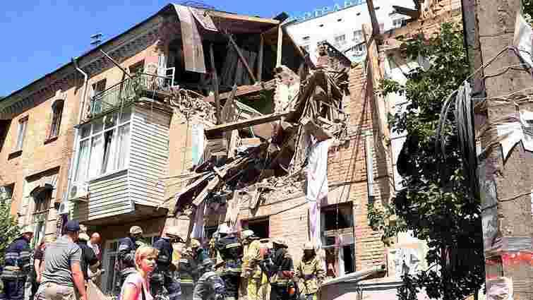 Під завалами будинку, що вибухнув у Києві, знайшли загиблого чоловіка