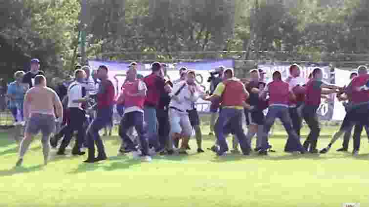 Після програшу аматорській команді із Львівщини фани «Дніпра» влаштували бійку