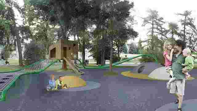 У Львові обрали проект майбутнього дитячого майданчика на площі Святого Юра