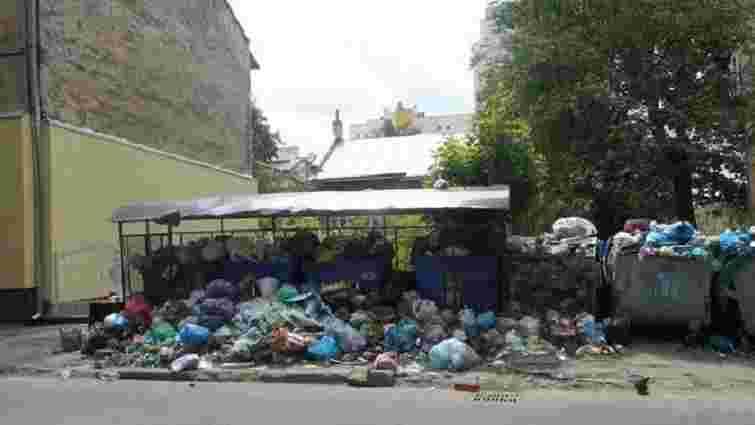 У Львові переповненими є 127 сміттєвих майданчиків