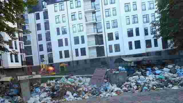 ЛОДА остаточно перебрала на себе відповідальність за вивезення сміття зі Львова