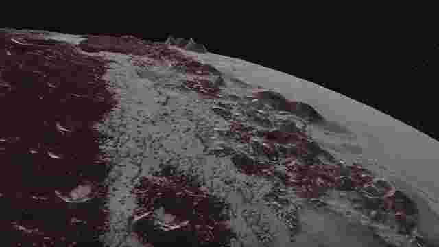 NASA показало відео польоту над поверхнею Плутона і Харона