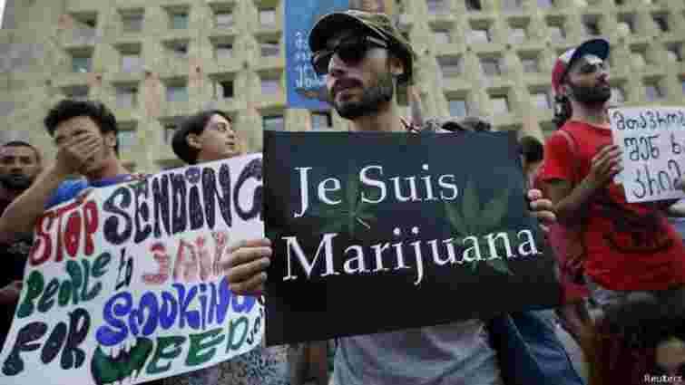 Грузія скасувала покарання за вирощування марихуани для особистого користування