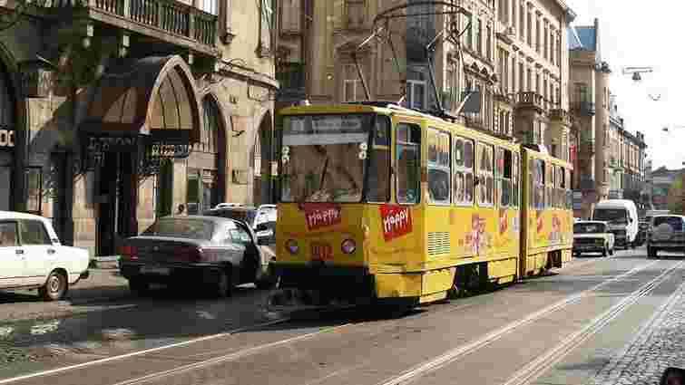 На вихідних у Львові не працюватимуть шість трамвайних маршрутів