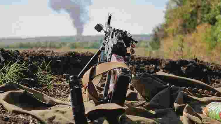 Міноборони повідомило про загибель п'ятьох вояків у зоні АТО