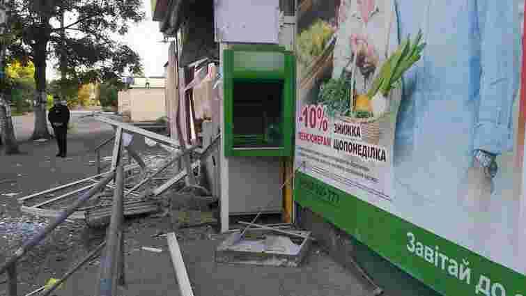 На Харківщині злодії підірвали банкомат та вкрали ₴45 тис.
