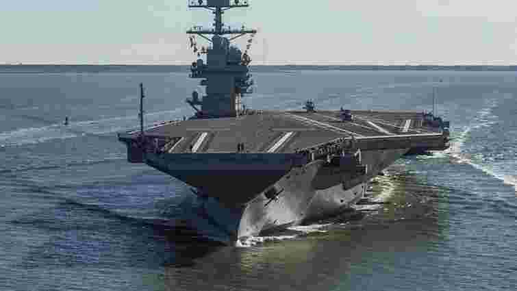 Військово-морські сили США отримали новітній авіаносець вартістю $13 млрд