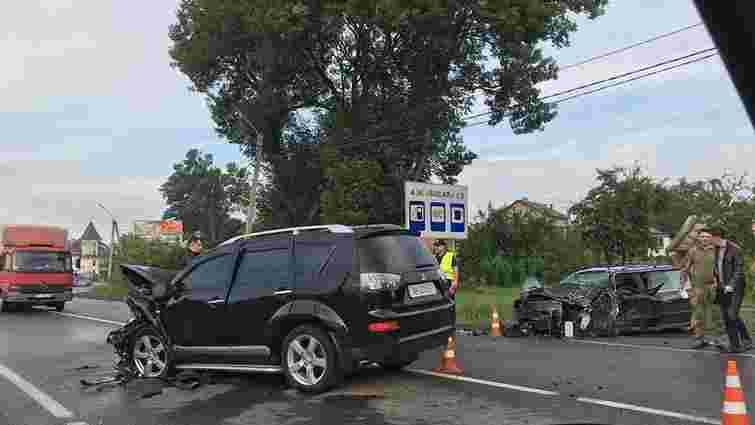 Два водії постраждали внаслідок ДТП у передмісті Львова