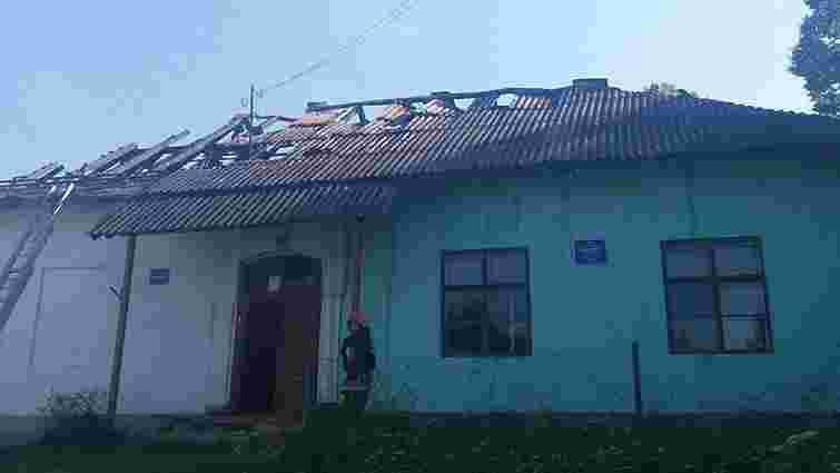 У Старосамбірському районі горів народний дім