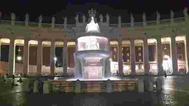 У Ватикані вперше вимкнули фонтани через брак води
