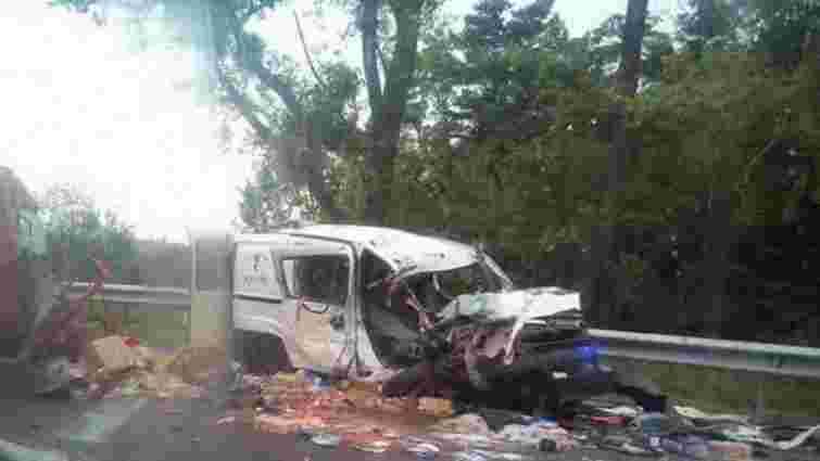 У ДТП на Львівщині постраждали 5 людей