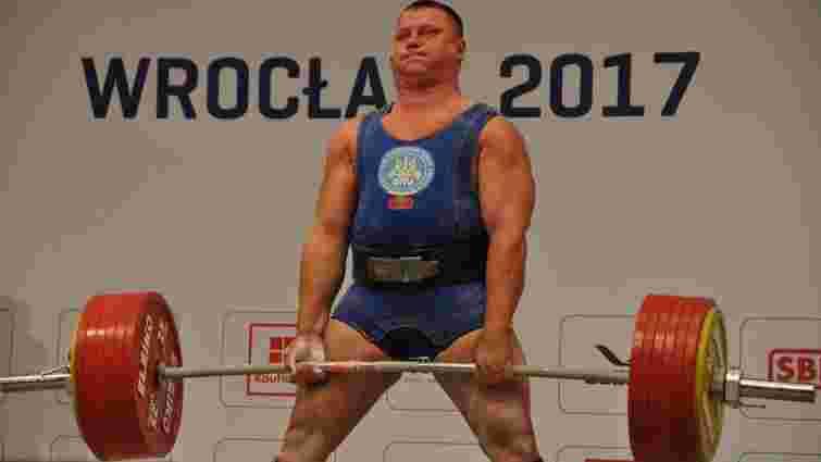 Ще один український пауерліфтер переміг на Всесвітніх Іграх у Вроцлаві