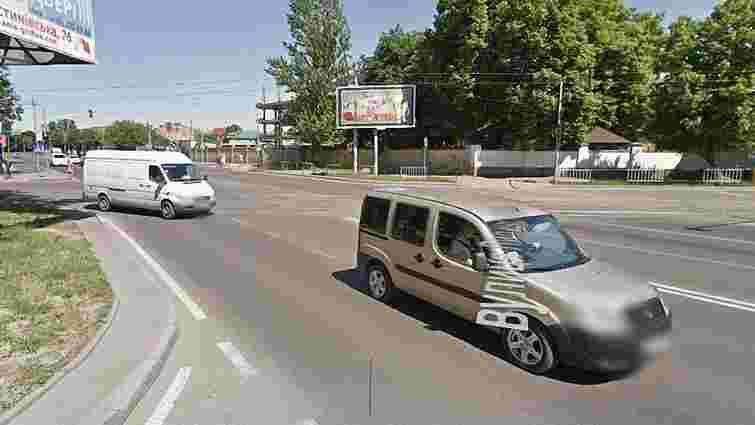 На перехресті вул. Липинського-Замарстинівська просіло дорожнє полотно