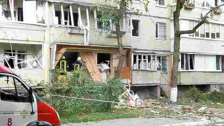 Тимчасового житла попросили мешканці 19 квартир київського будинку, у якому стався вибух