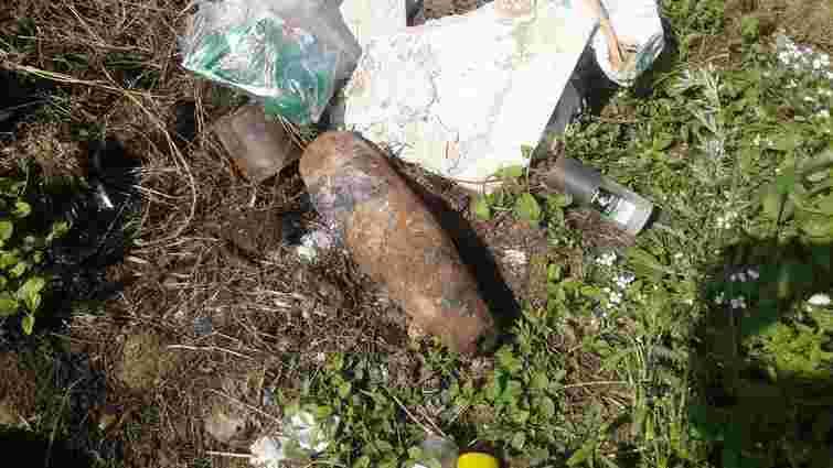 У Львові  на сміттєвому майданчику знайшли боєприпас Другої світової