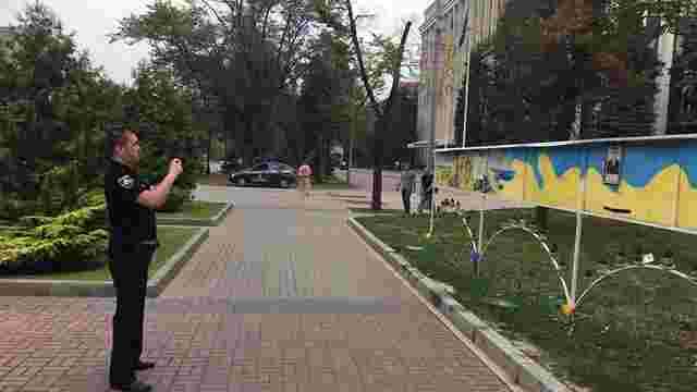 У Дніпрі вандали пошкодили меморіал пам'яті загиблих бійців АТО