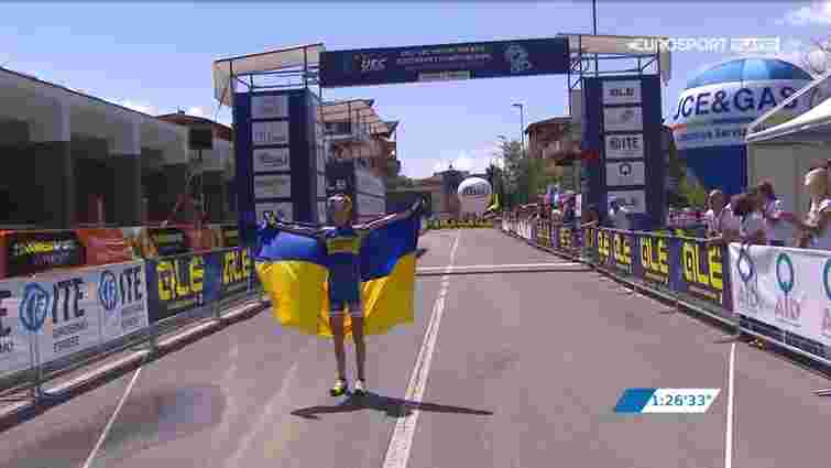 Українка Яна Беломоїна стала чемпіонкою Європи з маунтинбайку
