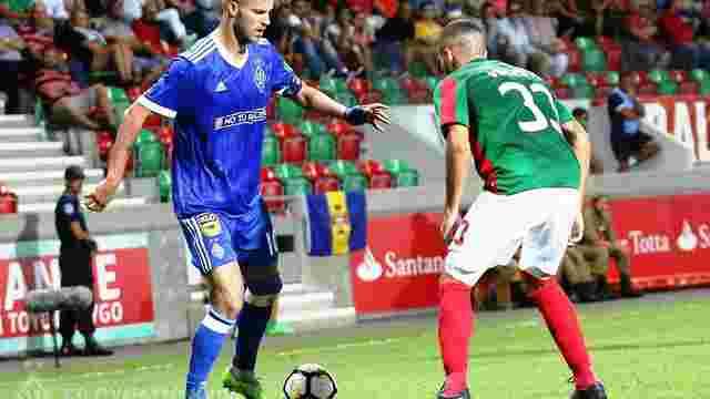 «Динамо» пройшло у групу Ліги Європи, «Олександрія» програла БАТЕ і вилетіла