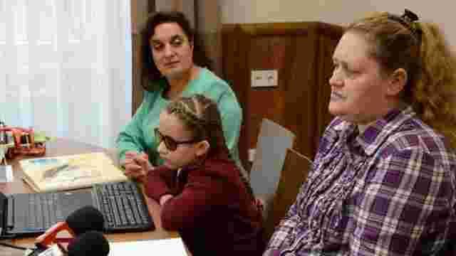 У Львові незрячі школярі отримали можливість навчатися у звичайній школі