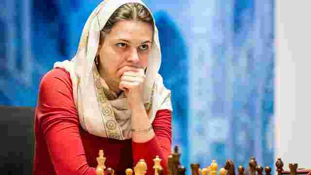 Анна Музичук відмовилась їхати на чемпіонат світу в Саудівську Аравію