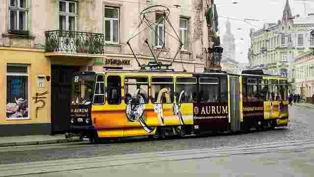 До понеділка у Львові не курсуватимуть трамваї №3, 4 та 5